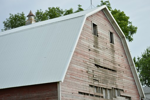 Barn, Wood, Old, Wooden, Weathered