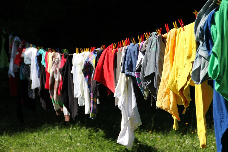 Clothes Line, Laundry, Colorful, Wash, Color, Clean