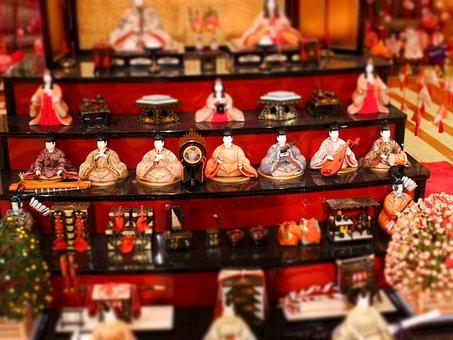 日本, ホテル, ひな祭り, お土産, ショップ