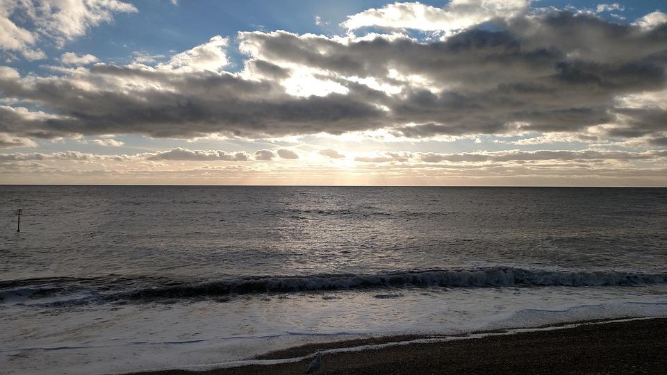 Brighton Engels Kust Zonsondergang Gratis Foto Op Pixabay
