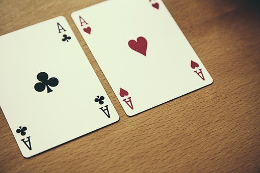 Texas Hold'Em, Poker, Ace, Card Game