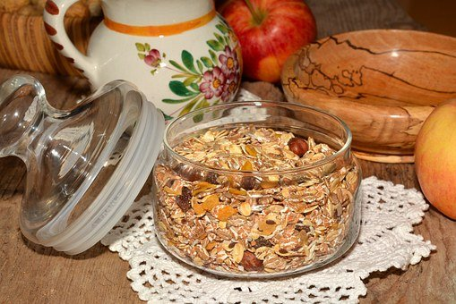 Muesli, Healthy, Breakfast
