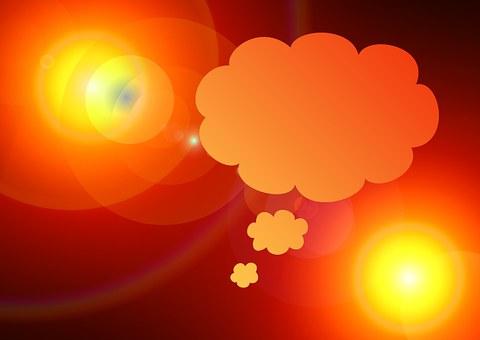 Thought Bubble, Light, Lichtreflex