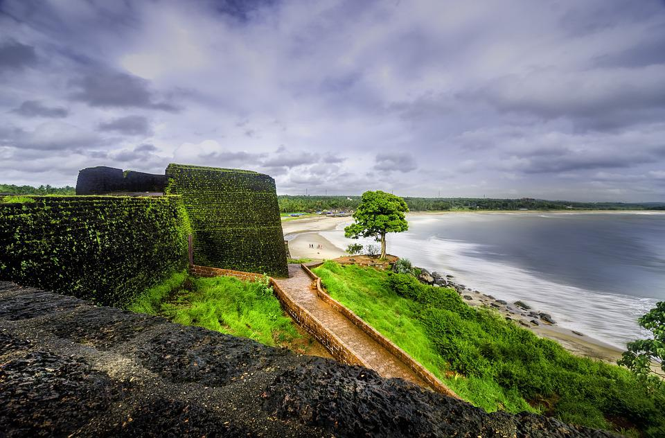 Sea view from Bekal Fort