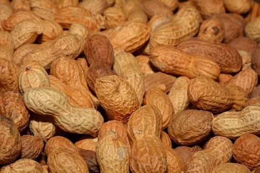 Peanuts, Nuts, Background, Healthy