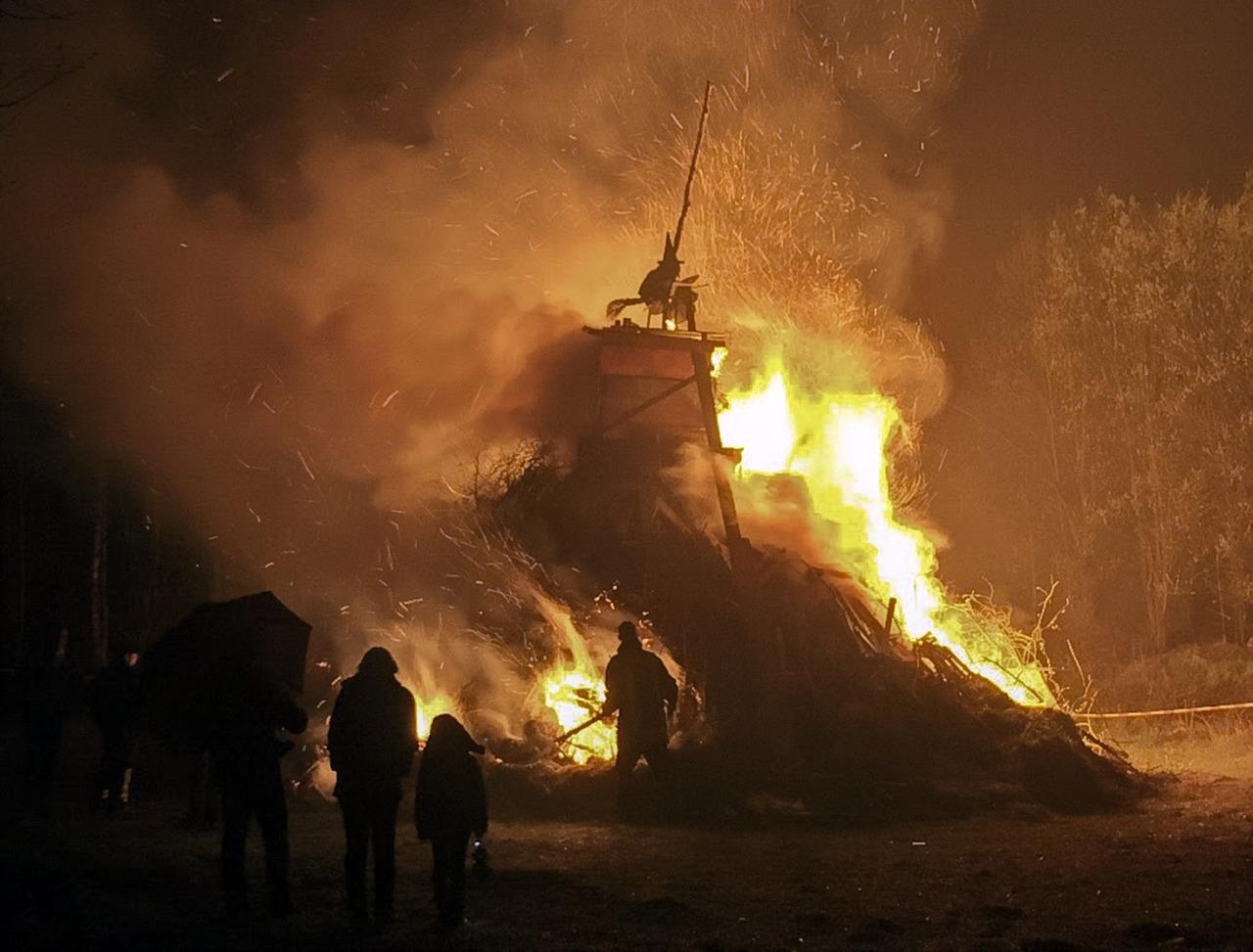 вальпургиева ночь сгорела в огне онлайн даже помню