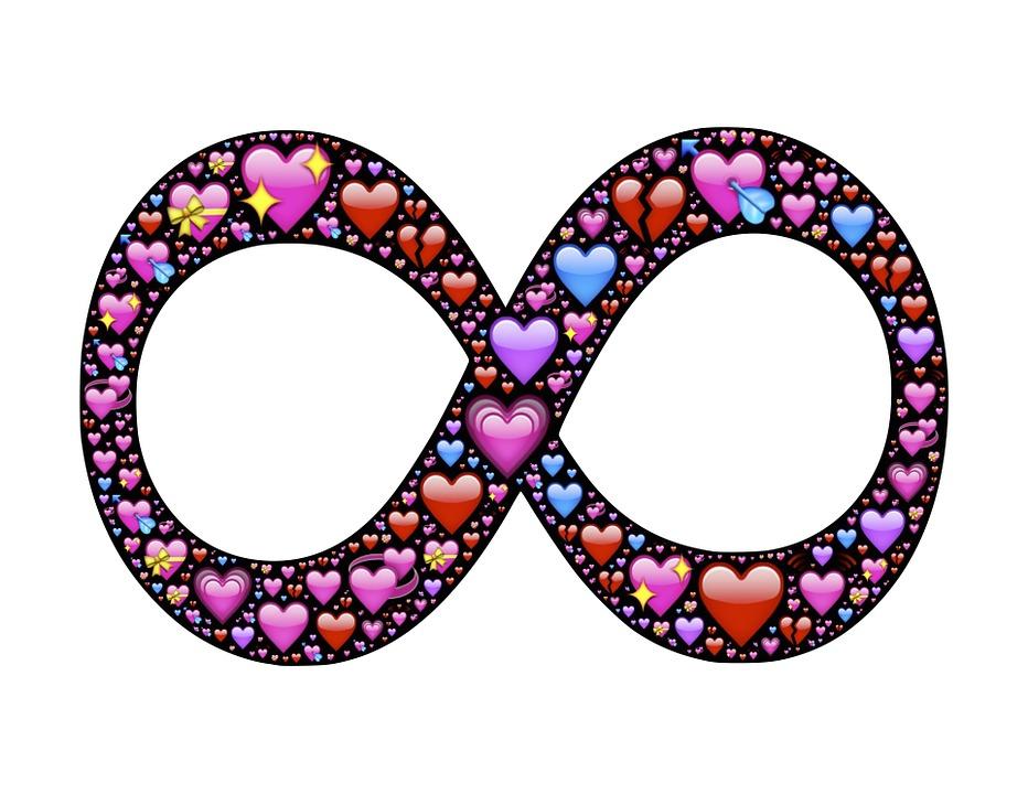 Unendlich Herzen Liebe Kostenloses Bild Auf Pixabay