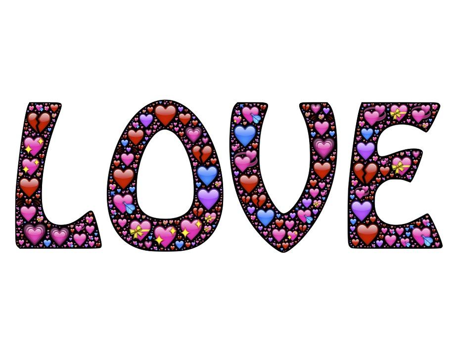 Bien connu Free illustration: Word, Hearts, Love, Emoji, Icons - Free Image  RM17