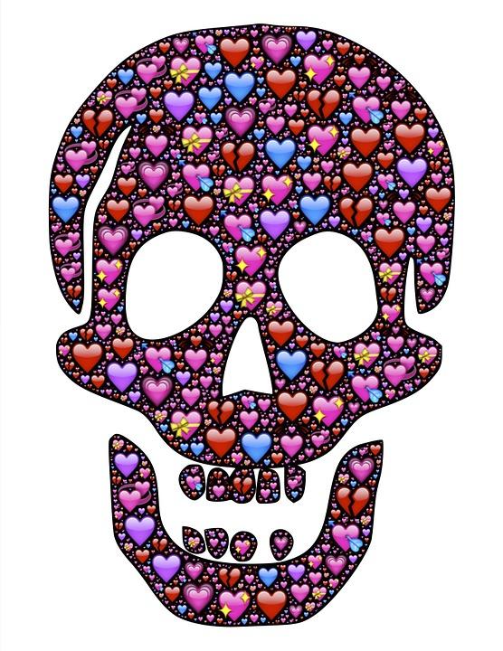 Schadel Liebe Lieben Kostenloses Bild Auf Pixabay