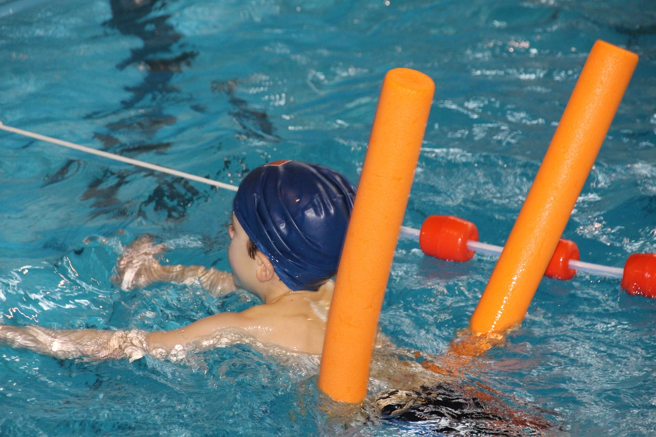 flotation tool for swimming tips