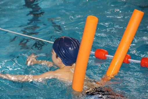 Swim, Swimming Pool, Floating Noodle