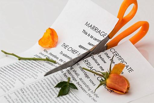 Divorce Separation Marriage Breakup Split