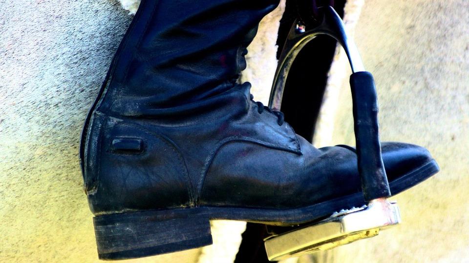 Stirrup, Boot, Horse, Equestrian, Equine, Horseback