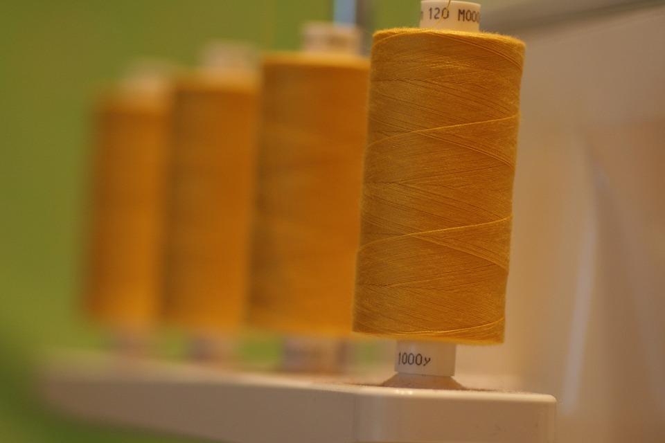 Thread, Bobine, À Coudre, Surjeteuse, Coton, Polyester