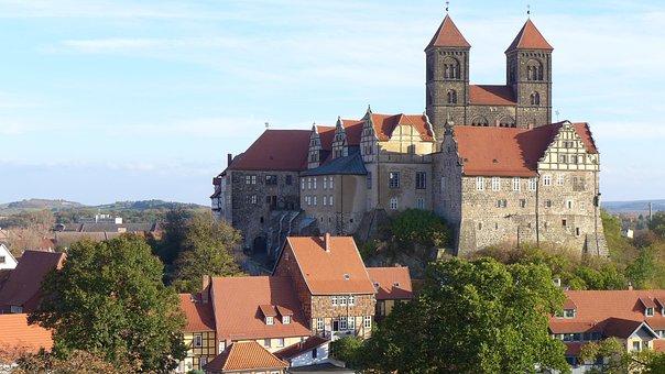 In den Harz - Schlossberg Quedlinburg