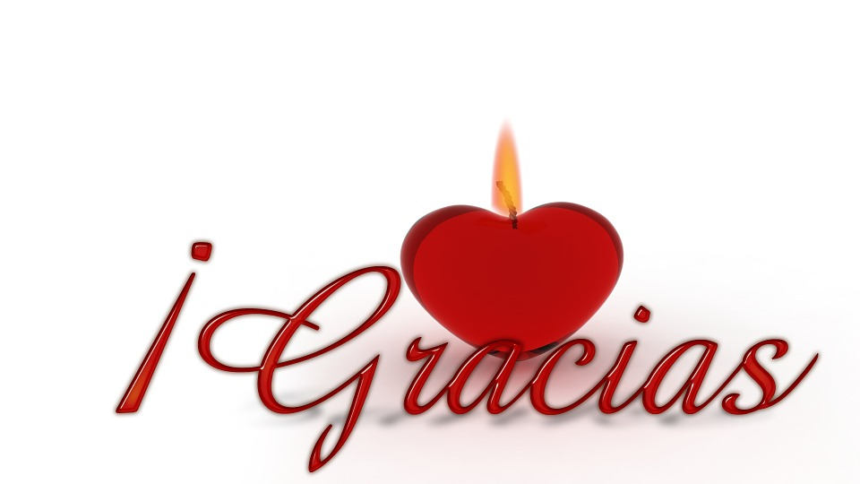 Free Illustration Thank You Heart Candle Wick Free