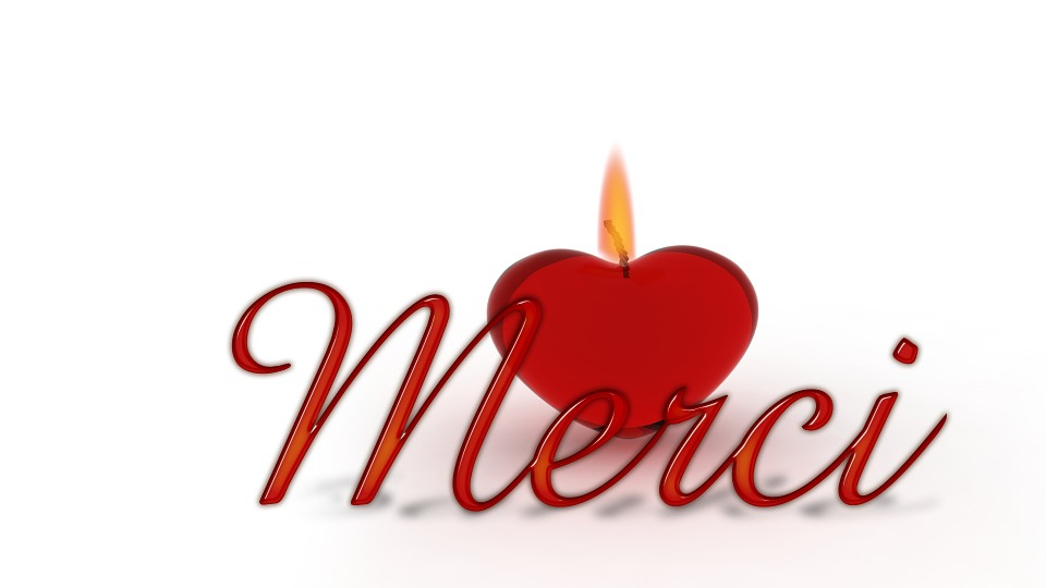 illustration gratuite  merci  coeur  bougie  m u00e8che