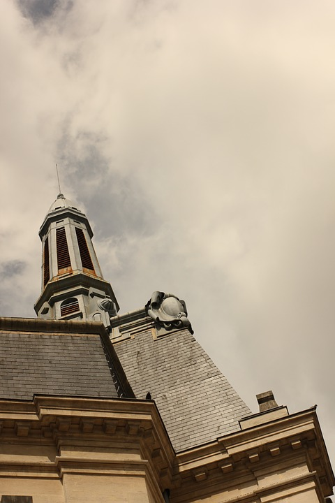 Dijon, Sky, Roof, Cloud, Roofing, Monument, France