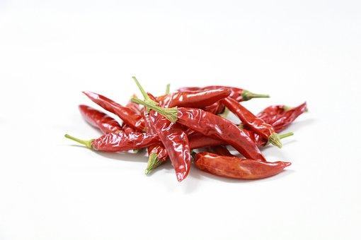 Chili Pepper, Rojo, Picante, Secado