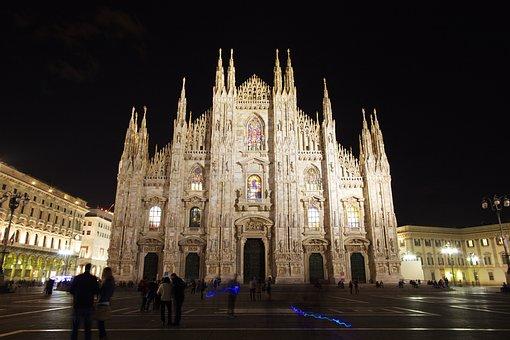 Iglesia, Gótico, Milán