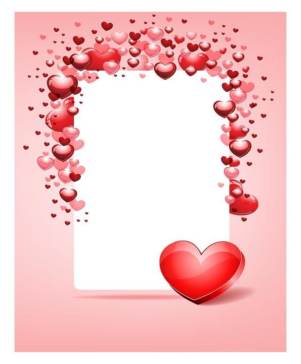Free illustration: Frame, Love, Valentine, Hearts - Free Image on ...