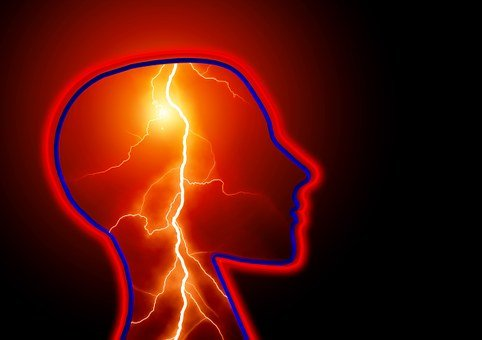 Epilepsie Beschlagnahme Schlaganfall Kopfs