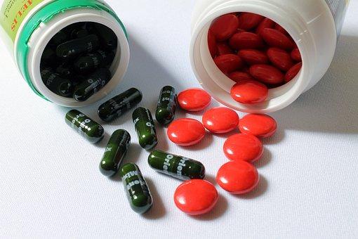 錠, 丸薬, ビタミン, サプリメント, ビタミンサプリメント, 自然療法