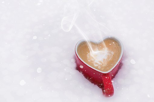 Valentine'S Day Valentine Love Coffee Hear