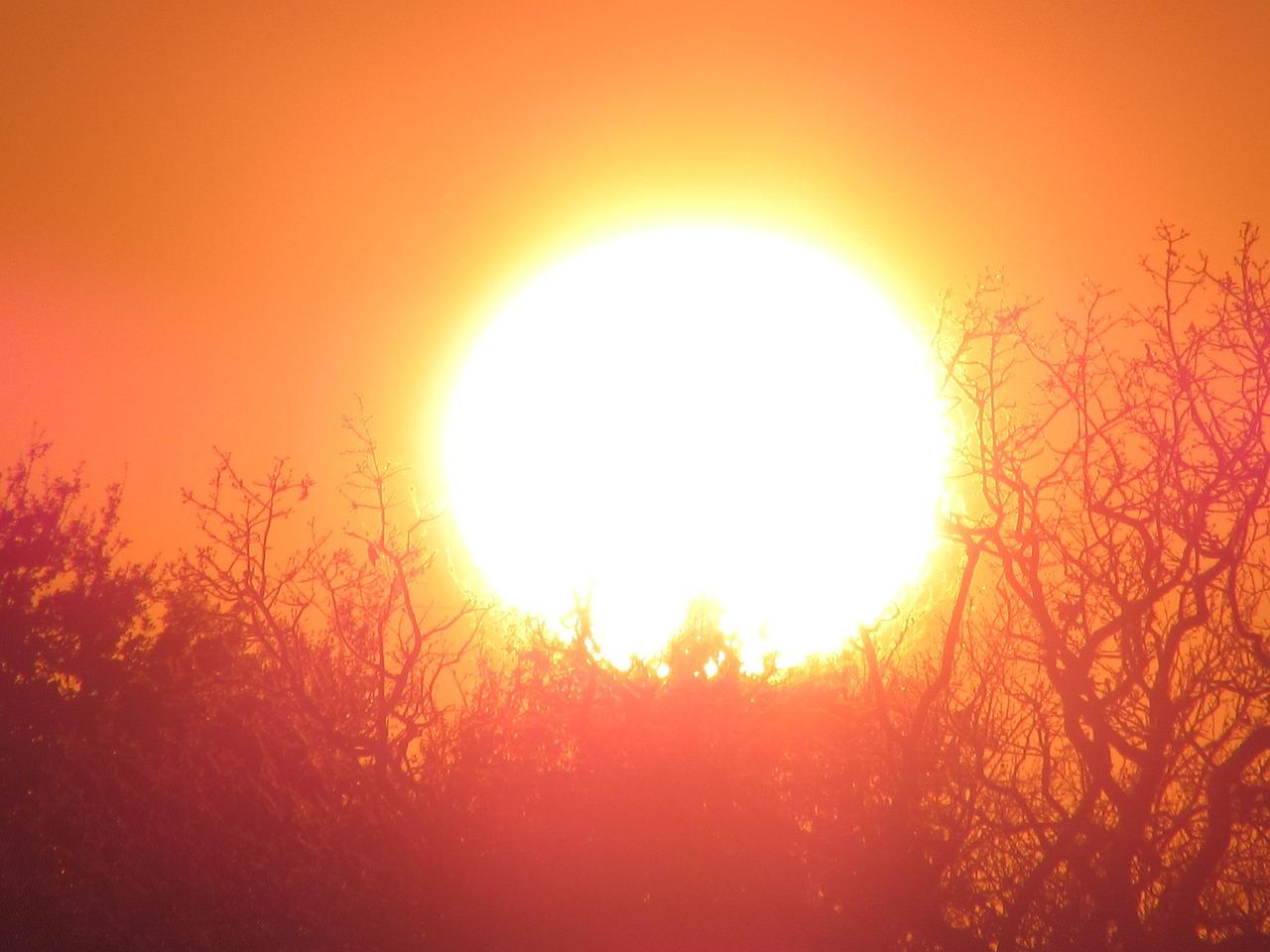 Картинка яркого солнце вариант одежды