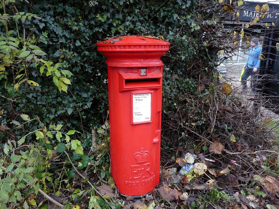Briefkasten Rot Englisch Kostenloses Foto Auf Pixabay