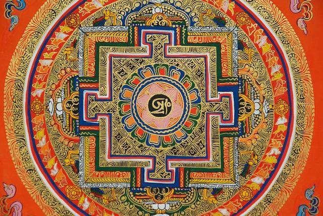 Mandala Tibet Népal · Free Photo On Pixabay
