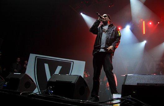 Concert, Rap, Hip Hop, Microphone, Music