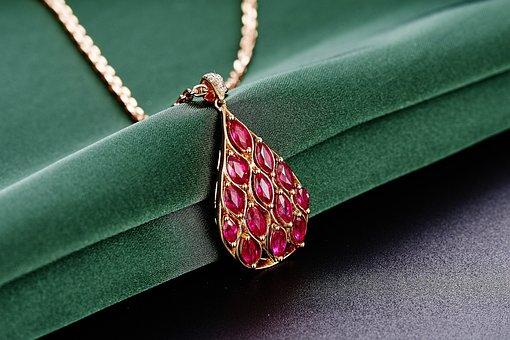 Jewelry, Ruby, Pendant, Ruby, Ruby, Ruby