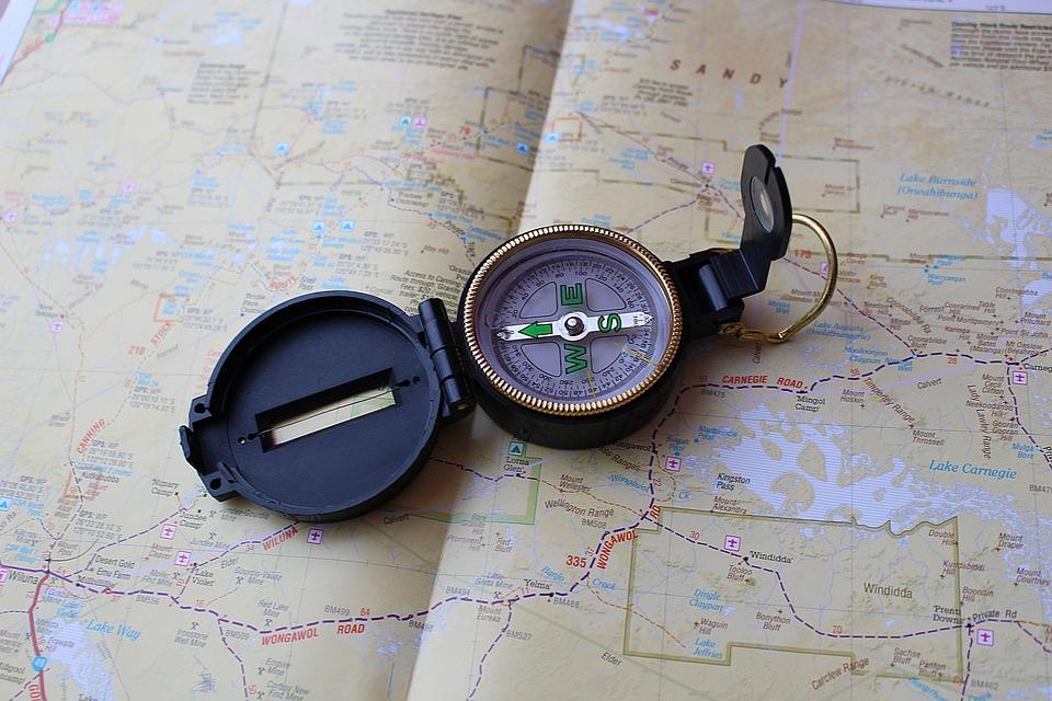 Ilmaisia Kuvia Matkustaa Kompassi Kartta Maailman