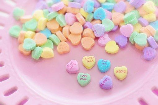 Permen Valentine, Hati, Percakapan