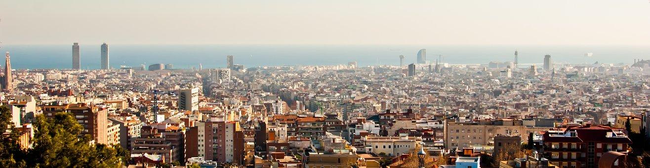 Qué ver qué hacer en Cataluña, Vista panorámica de Barcelona
