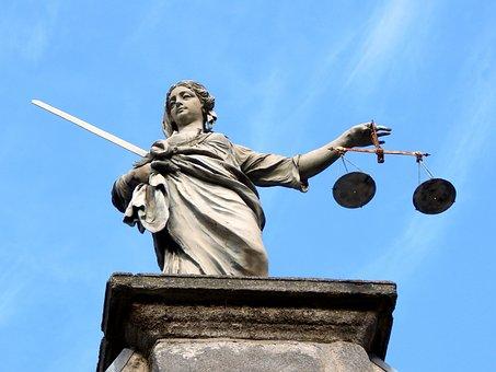 Justicia Estatua Dublin Irlanda Diosa Just