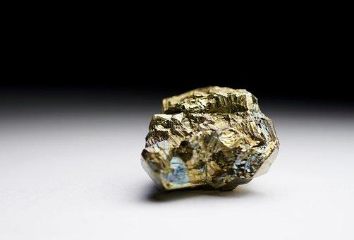 Pyrite, Gemstone, Mineral, Fools Gold