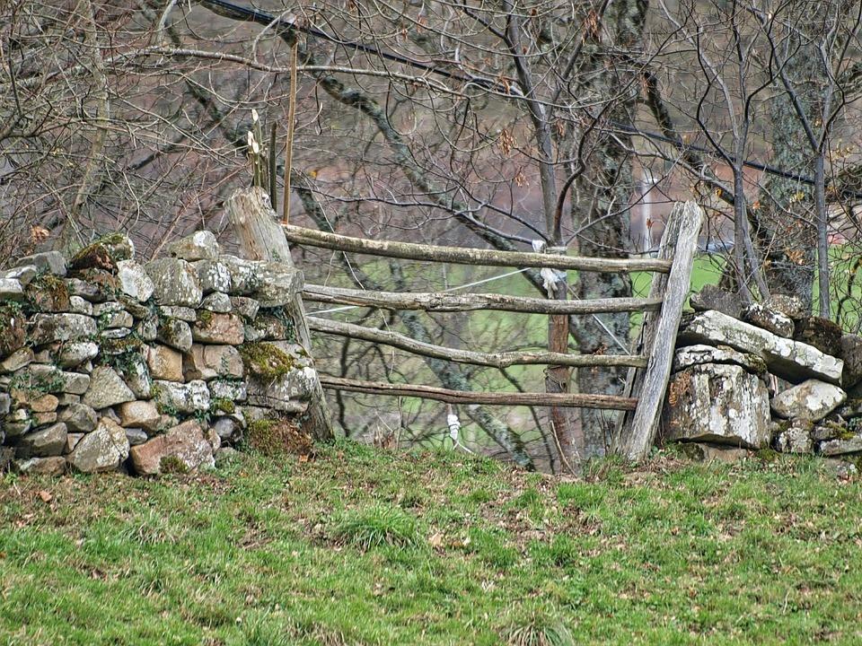 Zaun Landhaus Landschaft Kostenloses Foto Auf Pixabay