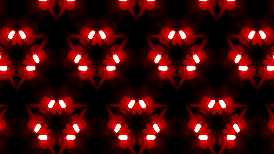 Ilustrasi Gratis Latar Belakang Hitam Merah Gambar Cahaya Abstrak Hd