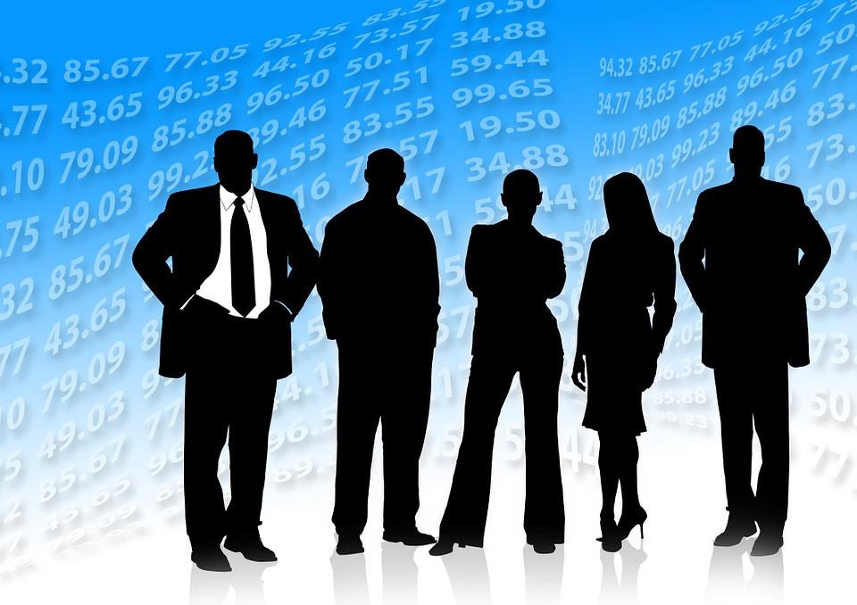 Analiza, Płacić, Biznesmenów, Spotkanie, Banki