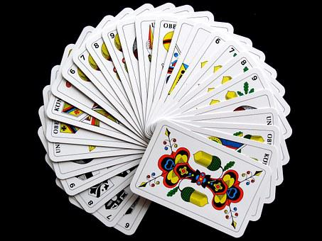 Cards Jass Cards Card Game Strategy Play P