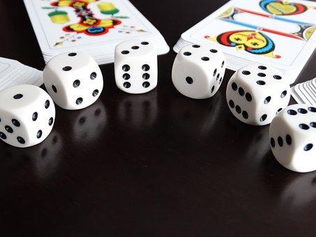 Dice, Cards, Jass Cards, Card Game