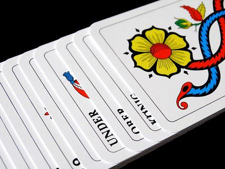 Cards, Jass Cards, Card Game, Strategy