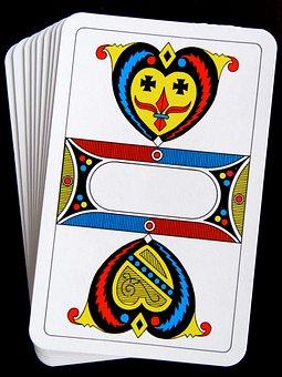 Ace, Shield, Cards, Jass Cards