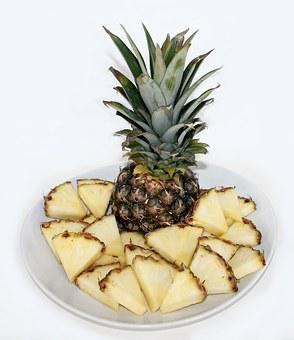 Pineapple Fruit Food Health Fruit Bowl Fru