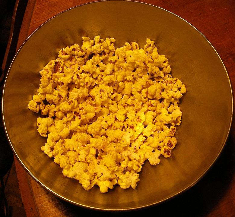 Popcorn, Turmeric, Snack