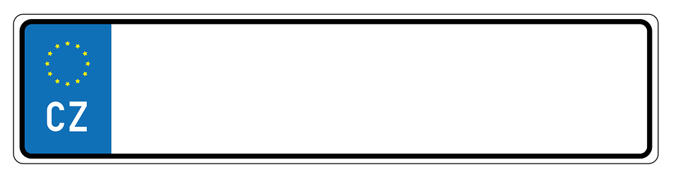 free illustration cz czech auto license plate free image on pixabay 627892. Black Bedroom Furniture Sets. Home Design Ideas