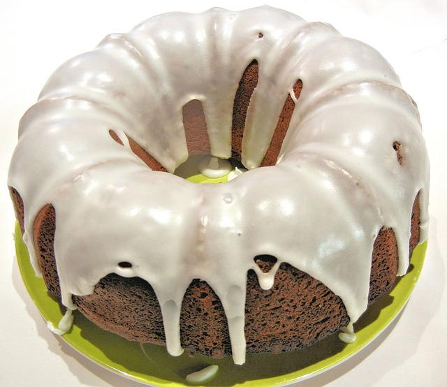 Chocolate Bundt Cake Vector