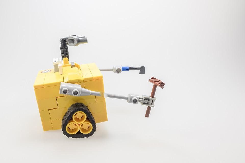 レゴ, ウォーリー, フィギュア, カルト, コンピューター, ロボット, マシン, 制御, 人工知能
